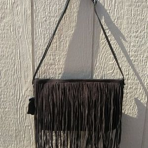 Wilson's Leather fringe purse BNWT!